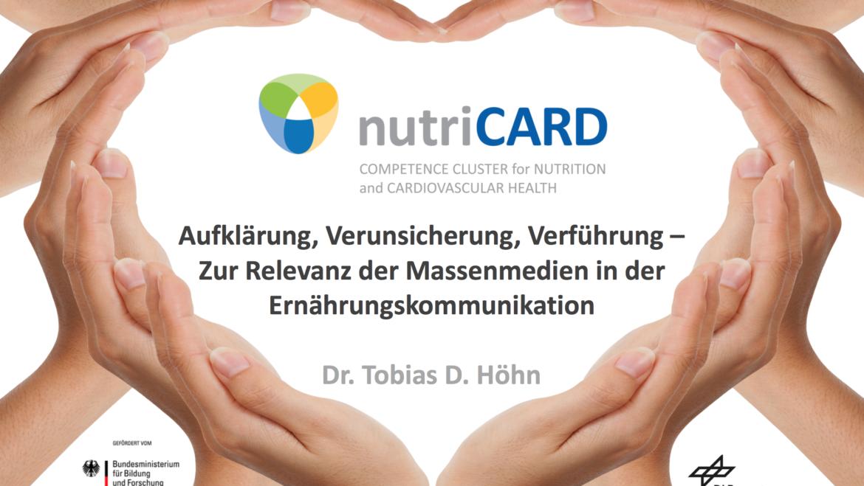nutriCARD-Clustervollversammlung –Präsentation erster Forschungsergebnisse