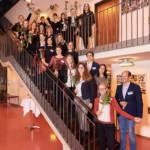 """""""Herzlich Willkommen an der Leipzig School of Media!"""" hieß es für rund 25 Studierende, die am Mittwoch zur Immatrikulationsfeier auf dem Mediencampus feierlich begrüßt wurden."""